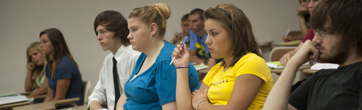 USI students in the classroom