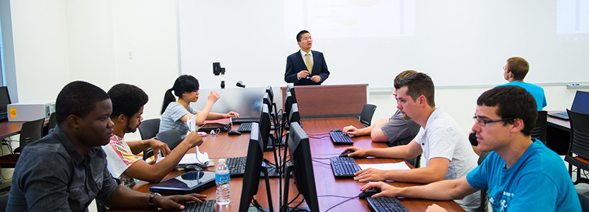 USI Romain College Computer Science Class