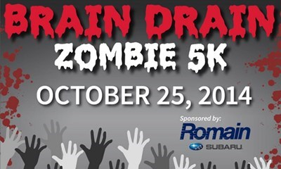 USI's Brain Drain Zombie 5K: A challenging race with a scary twist