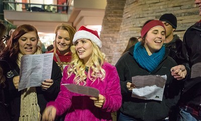 Celebrate the arrival of the holiday season at USI's Lighting a Tradition