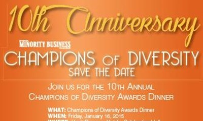 USI honored with Champions of Diversity award
