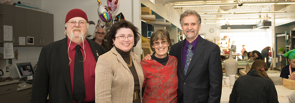 Dowhies give $1 million to support ceramics education at USI