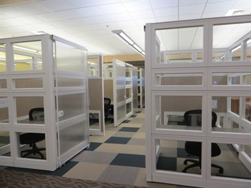 Individual Study Rooms