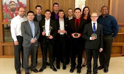USI team wins information systems competition