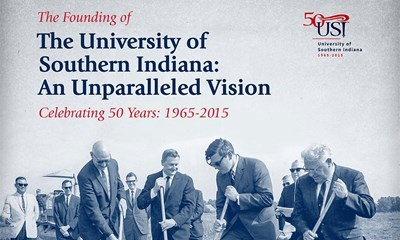 Museum Exhibits Celebrate USI's 50th Anniversary