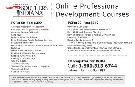 Re-certification Resources - University of Southern Indiana