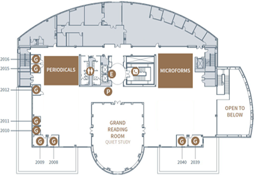 Second Floor Map tn