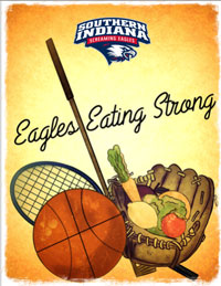Eagles -eating -strong -cookbook
