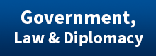 Government Law And Diplomacy Button