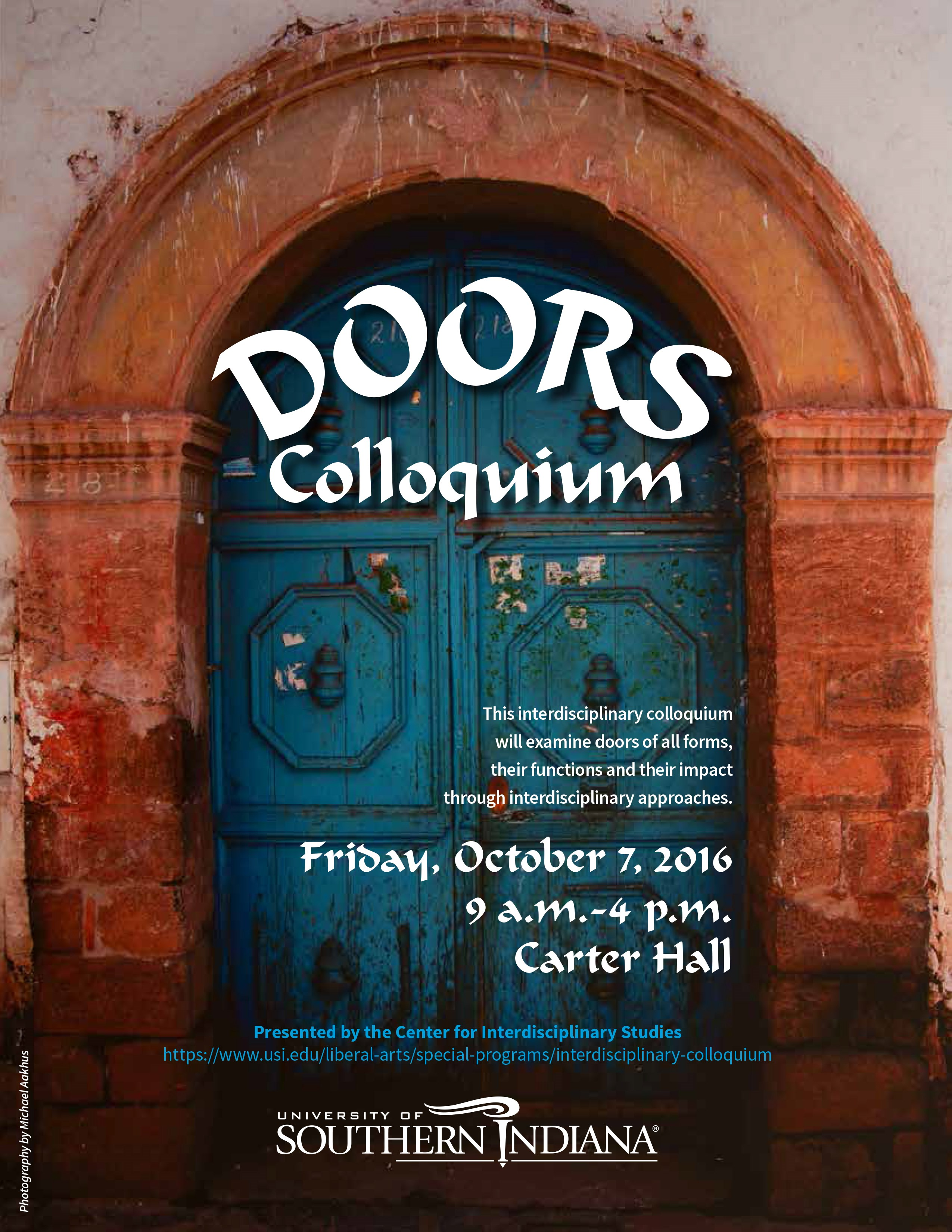 "USI to re-launch Interdisciplinary Colloquium with ""Doors"""