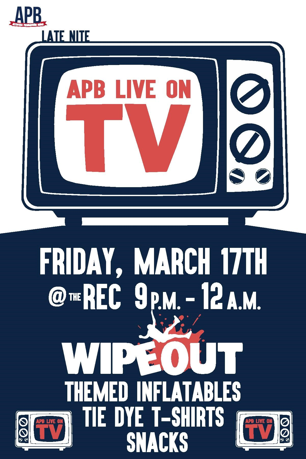 APB Live on TV - March 17