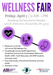 AIS Wellness Fair Flyer