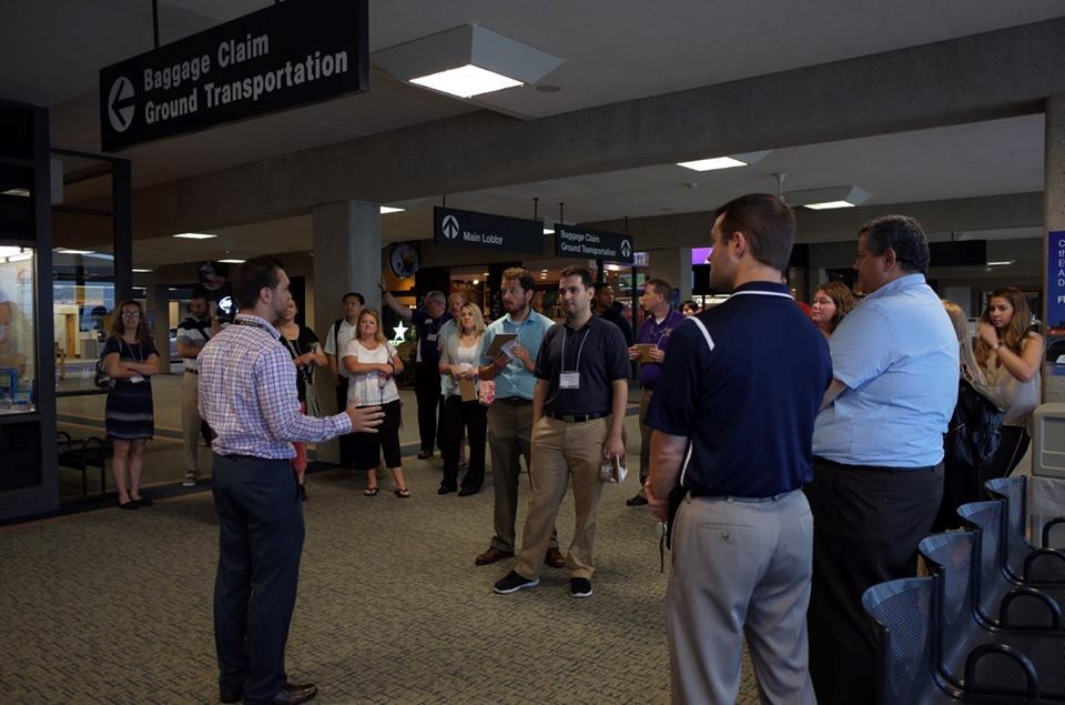 Evansville Regional Airport group tour