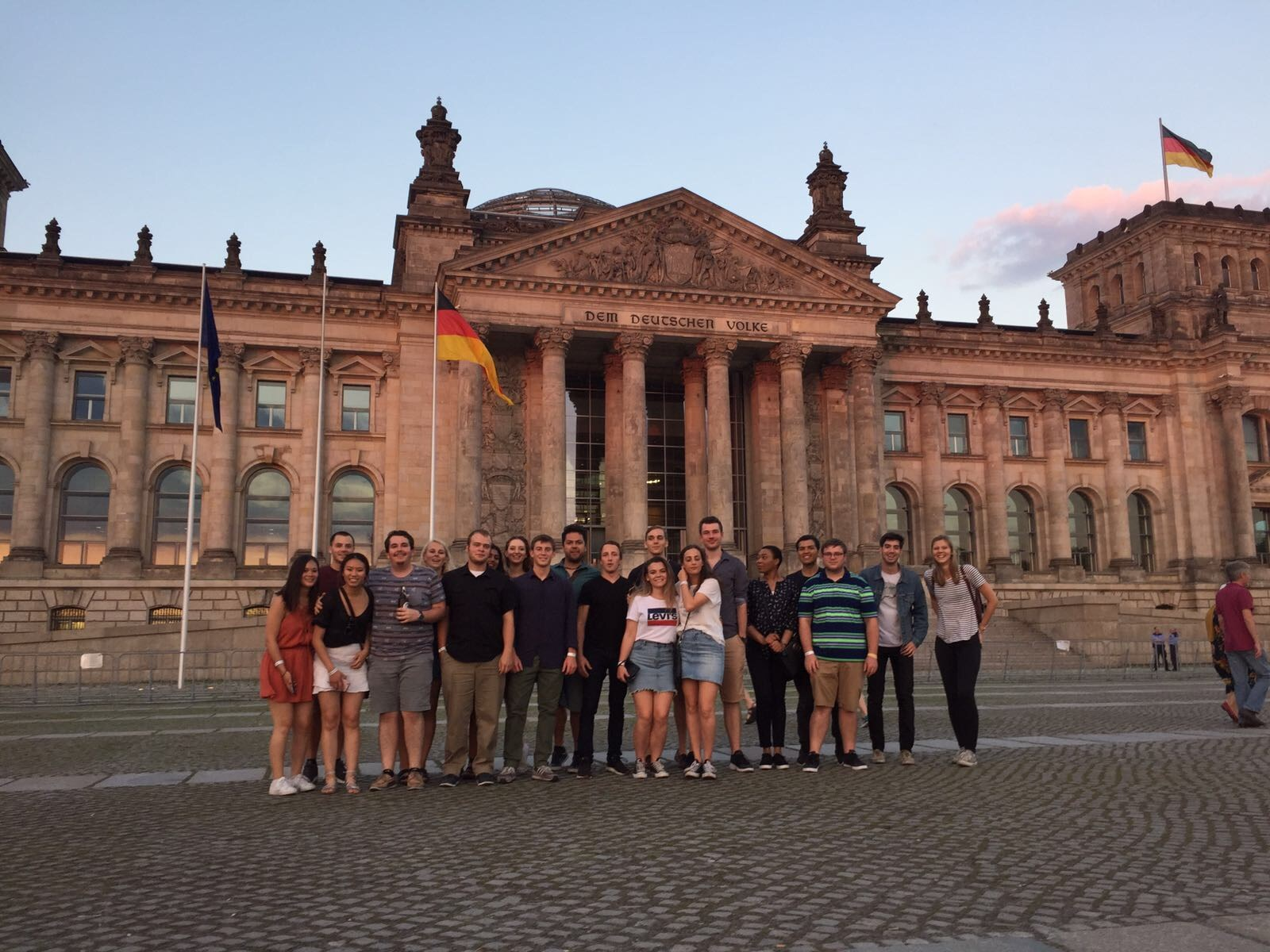 German government Reichstag in Berlin