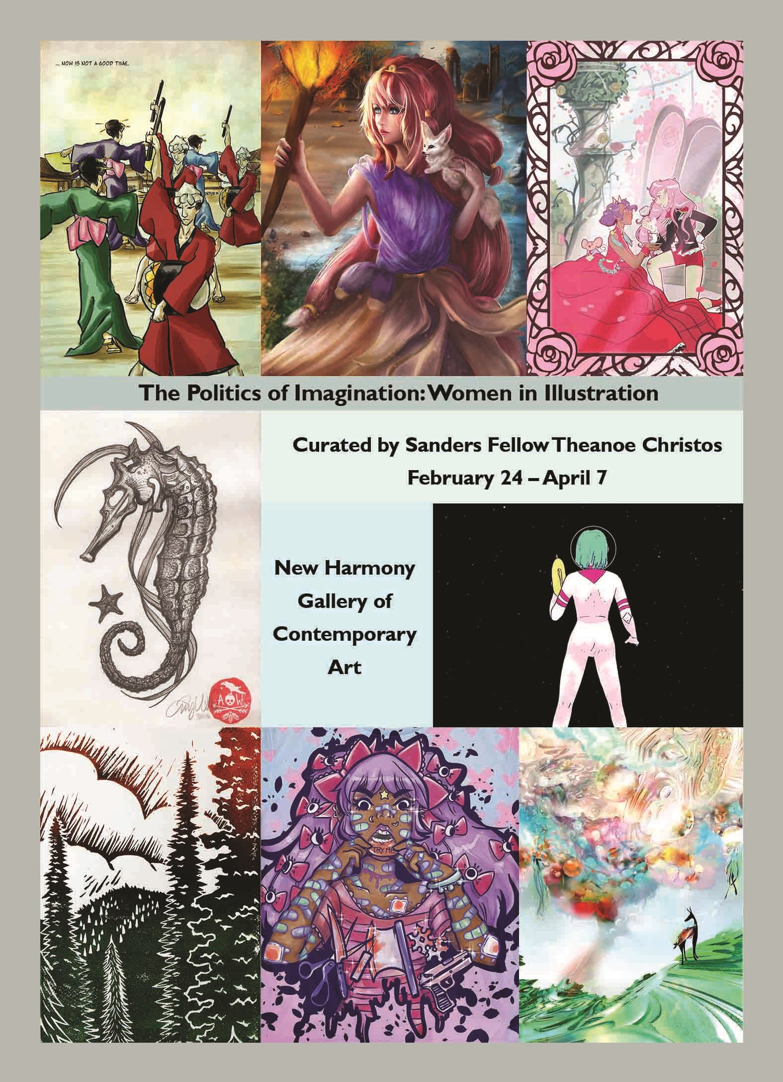 the politics of imagination women in illustration curated by sanders fellow theanoe christos