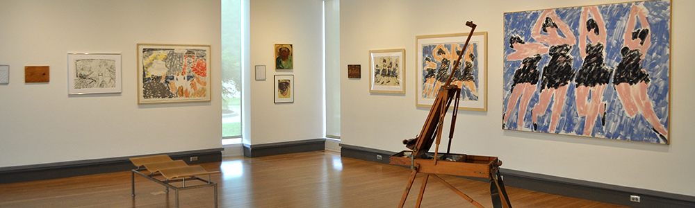 McCutchan Gallery with Stephen Pace pieces displayed