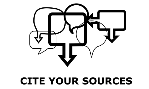 Cite Your Sources Icon