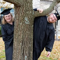 Williams duo makes Commencement a family affair