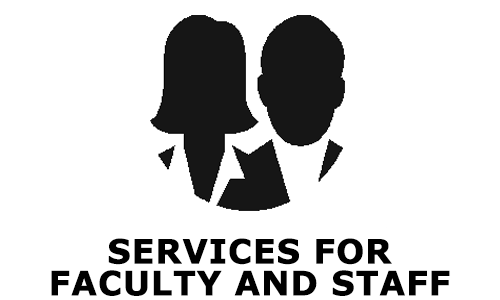 Services for faculty and staff