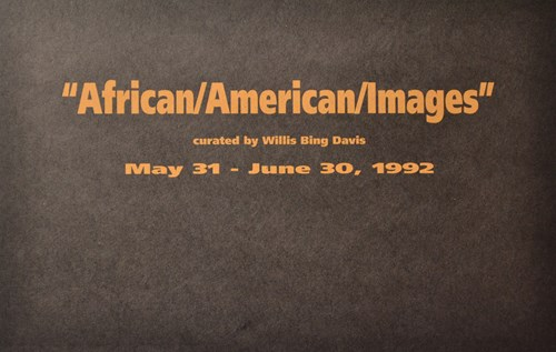 """African/American/Images"" curated by Willis Bing Davis"