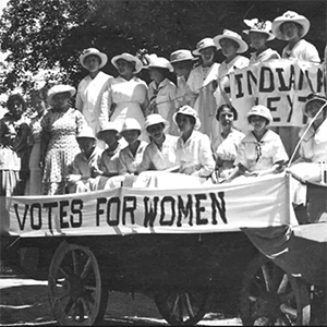 Women Who Aided in the Right to Vote